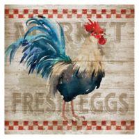 Masterpiece Art Gallery Morning Eggs 24-Inch x 24-Inch Canvas Wall Art