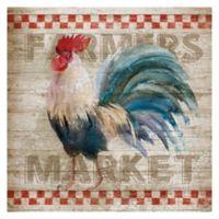 Masterpiece Art Gallery Farmers Market 24-Inch x 24-Inch Canvas Wall Art