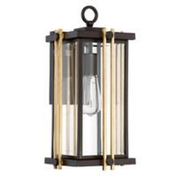 Quoizel Goldenrod Medium Wall Lantern in Bronze