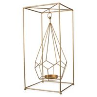 A&B Home Metal Candle Holder in Gold