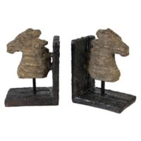 A&B Home Bookends in Natural (Set of 2)
