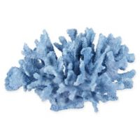 6.5-Inch Polyresin Coral Sculpture in Blue