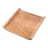 Villacera Square Mango Wood Serving Tray in Natural