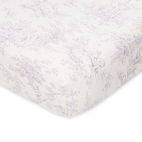 Glenna Jean Penelope Toile Fitted Crib Sheet Buybuy Baby