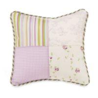 Glenna Jean Penelope Patchwork Throw Pillow