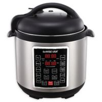 GoWISE USA® 8 qt. 10-in-1 Electric Pressure Cooker in Stainless Steel