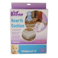KidKusion® Soft Foam Hearth Cushion in Taupe