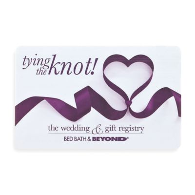 The Knot Wedding Gift List : tying the knot!