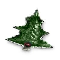 Julia Knight® Holly Sprig Petite Tree Bowl in Emerald