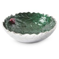 Julia Knight® Holly Sprig 8.5-Inch Bowl in Emerald