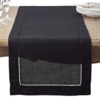 Saro Lifestyle Rochester 90-Inch Table Runner in Black