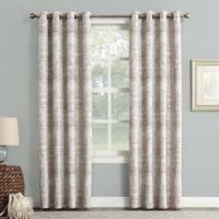 Sun Zero Darren 63-inch Grommet Room Darkening Window Curtain Panel in Camel