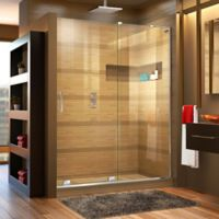 DreamLine® Mirage-X 44-48-Inch x 72-Inch Right Frameless Sliding Shower Door in Chrome