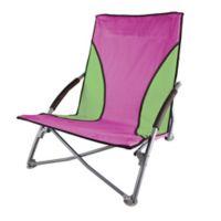 Stansport® Low-Profile Folding Chair in Purple/Green
