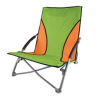 Stansport® Low-Profile Folding Chair in Lime/Orange