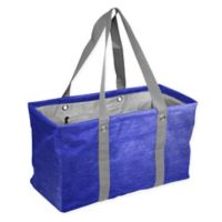 Crosshatch Picnic Caddy in Royal Blue