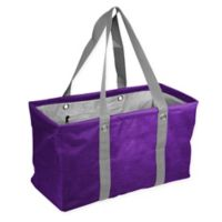 Crosshatch Picnic Caddy in Purple