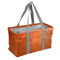 Crosshatch Picnic Caddy in Orange