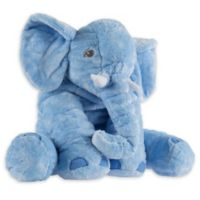 Happy Trails Elephant Plush Toy in Blue