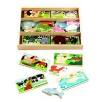Melissa & Doug® 16-Piece Animal Picture Boards