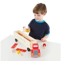 Melissa & Doug® Big Rig Building Playset