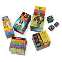 Melissa & Doug® Alphabet Nesting and Stacking Blocks