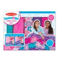 Melissa & Doug® Created by Me! Flower Fleece Quilt