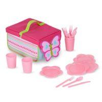Melissa and Doug® Cutie Pie Butterfly 20-Piece Picnic Set