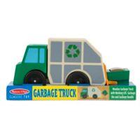 Melissa & Doug® Wooden Garbage Truck