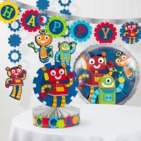 Creative Converting™ 6-Piece Robot Party Decorations Kit