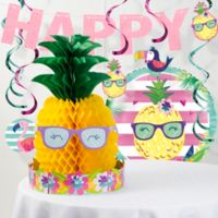 Creative Converting™ 8-Piece Pineapple Party Decorations Kit