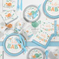 "Creative Converting™ 81-Piece ""Hello Baby"" Boy Party Supplies Kit"