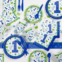 Creative Converting™ 81-Piece Doodle 1st Birthday Boy Party Supplies Kit