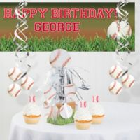 Creative Converting™ Baseball Party Decorations Kit