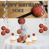 Creative Converting™ Basketball Party Supplies Kit
