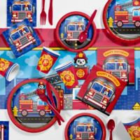 Creative Converting™ 81-Piece Fire Truck Party Supplies Kit