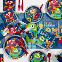Creative Converting™ 81-Piece Robot Party Supplies Kit
