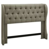 Dwell Home York Full/Queen Wing Headboard in Grey