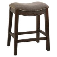 Sadie 25.7-Inch Contoured Counter Stool in Grey
