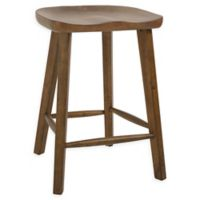 26.3-Inch Tractor Seat Counter Stool in Honey