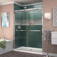 DreamLine® Encore 50-54-Inch x 72-Inch Semi-Frameless Bypass Shower Door in Chrome