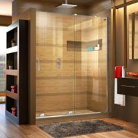 DreamLine® Mirage-X 56-60-Inch x 72-Inch Right Frameless Sliding Shower Door in Chrome