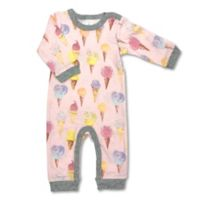 Newborn Allover Ice Cream Print Coverall