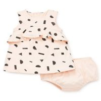 bb9253130 Focus Kids™ Size 9M 2-Piece Safari Dress and Panty Set in Pink