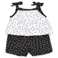 Focus Kids™ Size 6M Triangle Romper in White