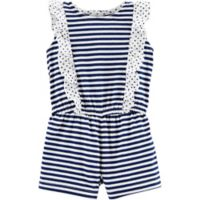 carter's® Size 6M Sleeveless Striped Romper