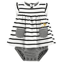 carter's® Size 6M Stripe Heart Sunsuit