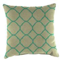 20-Inch Square Outdoor Throw Pillow in Sunbrella® Accord Jade