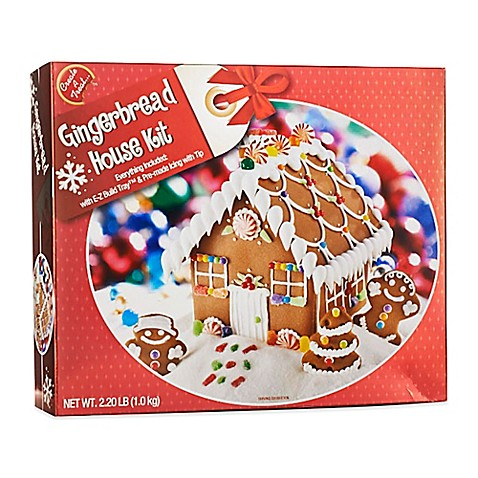 Gingerbread House Kit Bed Bath  Beyond - Gingerbread house garage
