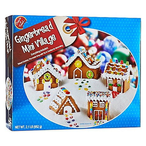 Gingerbread Mini Village Kit Bed Bath Amp Beyond